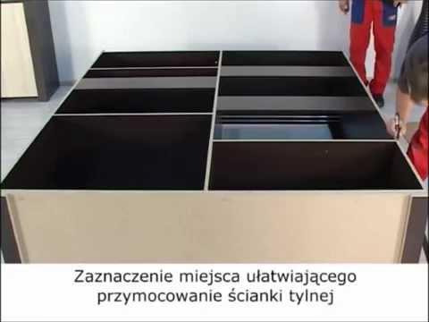 Montaż Mebli - Instrukcja - SZAFA Przesuwna - Porady MEBLINE
