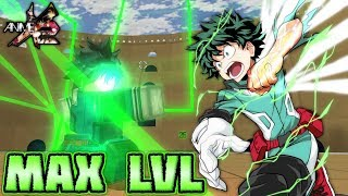 MAX LEVEL DEKU IS OVER-POWERED IN ANIME CROSS 2!! | Roblox