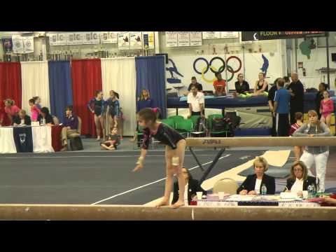 Nikki Beckwith Beam - Buckeye Gymnastics - 2013 Elite Qualifier Allentown