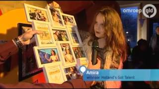 Amira Willighagen - Celebration Back at School - 6 January 2014