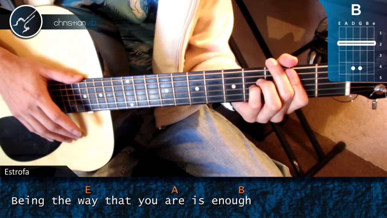 guitarra you are beautiful: