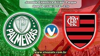 Palmeiras 1x1 Flamengo | AO VIVO | Campeonato Brasileiro