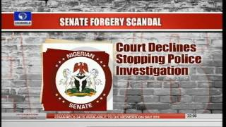 News@10: Buhari's Meeting With APC Caucus Ends In Deadlock 27/07/15 Pt.1