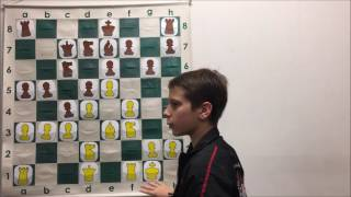USCF NM Robert Analyzes His Game in National Online Championship