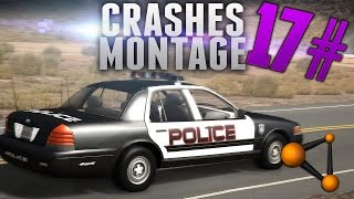 BeamNG Drive Crashes Montage #17 [HD]