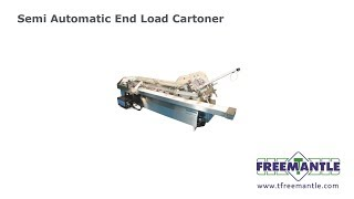 T Freemantle Ltd - Semi Automatic Cartoner