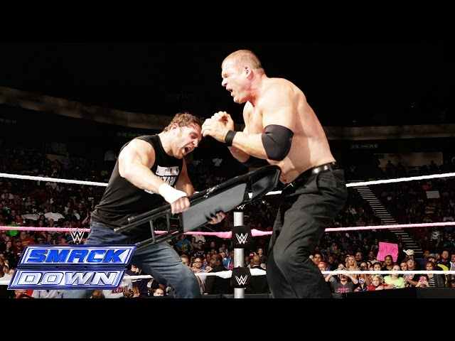 Dean Ambrose vs. Corporate Kane: SmackDown, Oct. 17, 2014