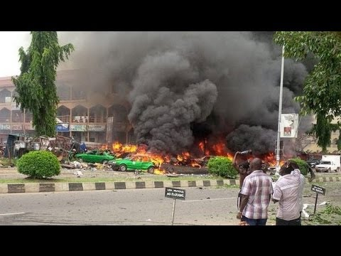 21 Dead Nigeria Explosion Car Bombing Shopping Mall Boko Haram Vengeance