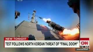 North Korea Fires Missiles Off Coast Ahead Of US Military Exercise