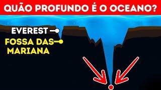 Qual é a profundidade do oceano na realidade?