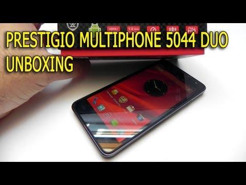 Prestigio Multiphone 5044 Duo Unboxing - GSMDome.com