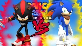 Sonic Dash 2: Sonic Boom - Sonic VS Shadow EPIC BATTLE!