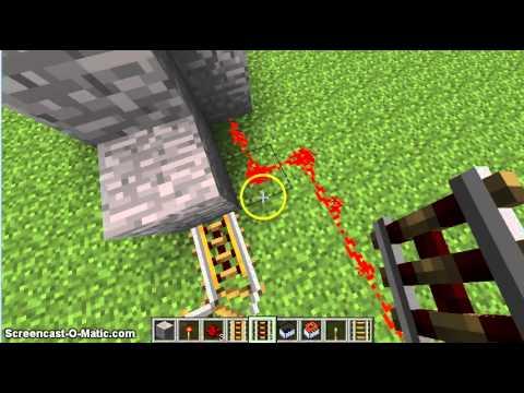 Три простые и эффективные ловушки с рельсами в Майнкрафте #27 (Механизмы в MineCraft)