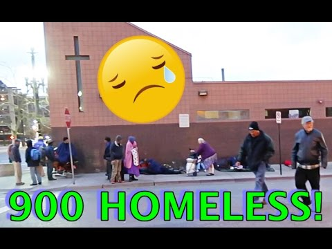 OVER 900 HOMELESS PEOPLE!