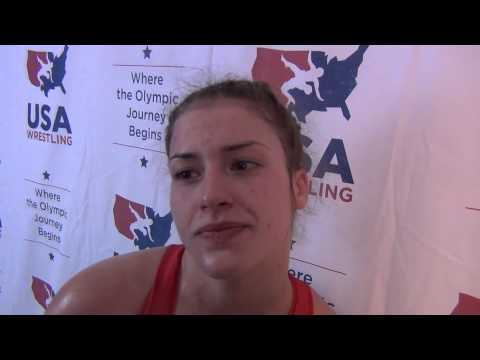 Helen Maroulis, 58 kg women's Champ at U.S. Open