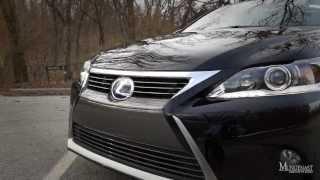 2014 Lexus CT200h Test Drive Review