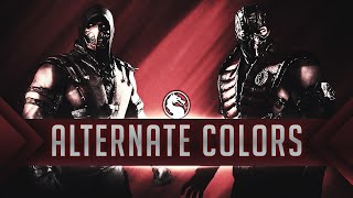 MKX: How to use alternate costume colors