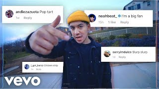 i made a song using only your instagram comments 4