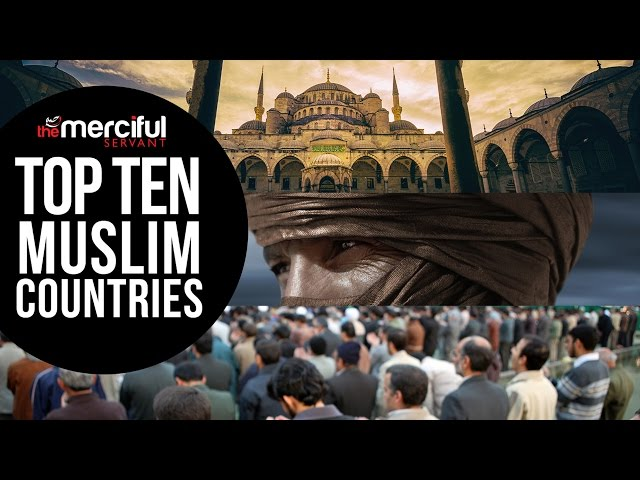 Top 10 Muslim Countries (Population of Muslims)