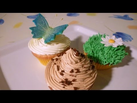 Cupcake: ricetta e decorazioni (recipe and decorations) by Italiancakes