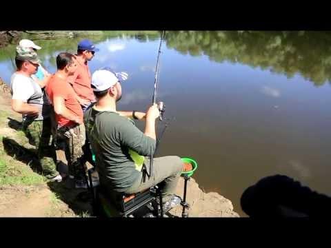 видео ловля на фидер с олегом квициния
