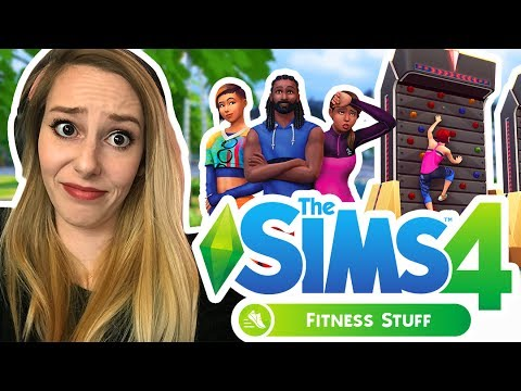 FIRST LOOK TS4: FITNESS STUFF PACK! | The Sims 4: Fitness Stuff Trailer Review and Rumors!