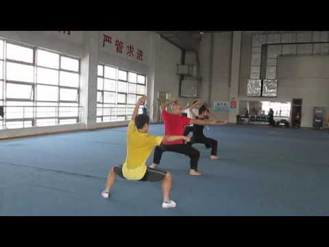 Visit to Shaanxi Sports Training Centre for Kung Fu (Wu Shu) Training Image 1