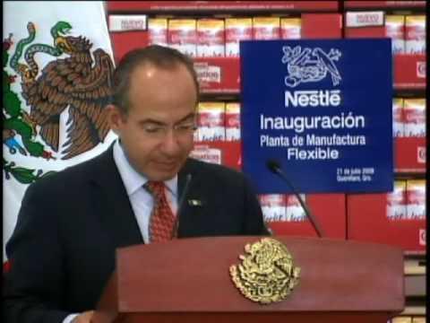 Inauguración de la Planta Nestlé