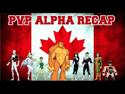 Marvel Avengers Alliance: PVP Pre-Season Alpha Recap