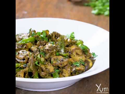Mushroom Pepper Fry |  Mushroom Pepper Fry Recipe
