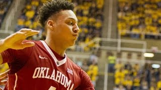 Oklahoma's Jamuni McNeace Plays Above The Rim vs. West Virginia | CampusInsiders