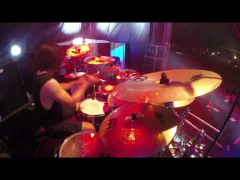 [Drum Cam] BURGERKILL - Shadow Of Sorrow + House Of Greed (live at Rockin' Noizee 2017) thumbnail