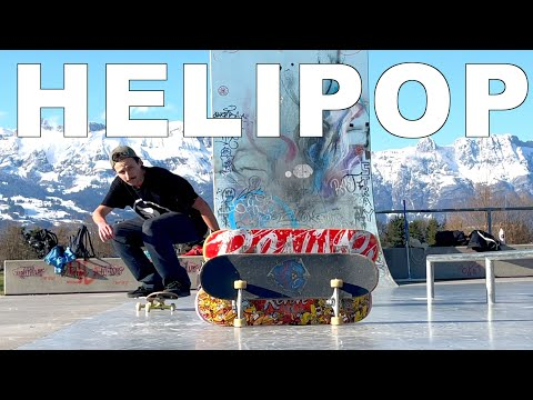 THE HELIPOP Impossible Tricks of Rodney Mullen