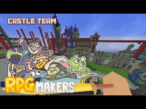 Minecraft - RPG Makers: Kingdom Build Day Part 2