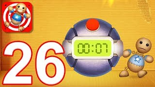 Kick the Buddy - Gameplay Walkthrough Part 26 - All Explosives Weapons (iOS)