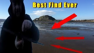 The best find ever magnet fishing at dumbarton castle a medieval sword