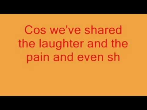 Against all odds (Take a look at me now) - The Soldiers & Lyrics