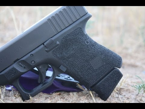 Glock 26 Grip Reduction & Stipple