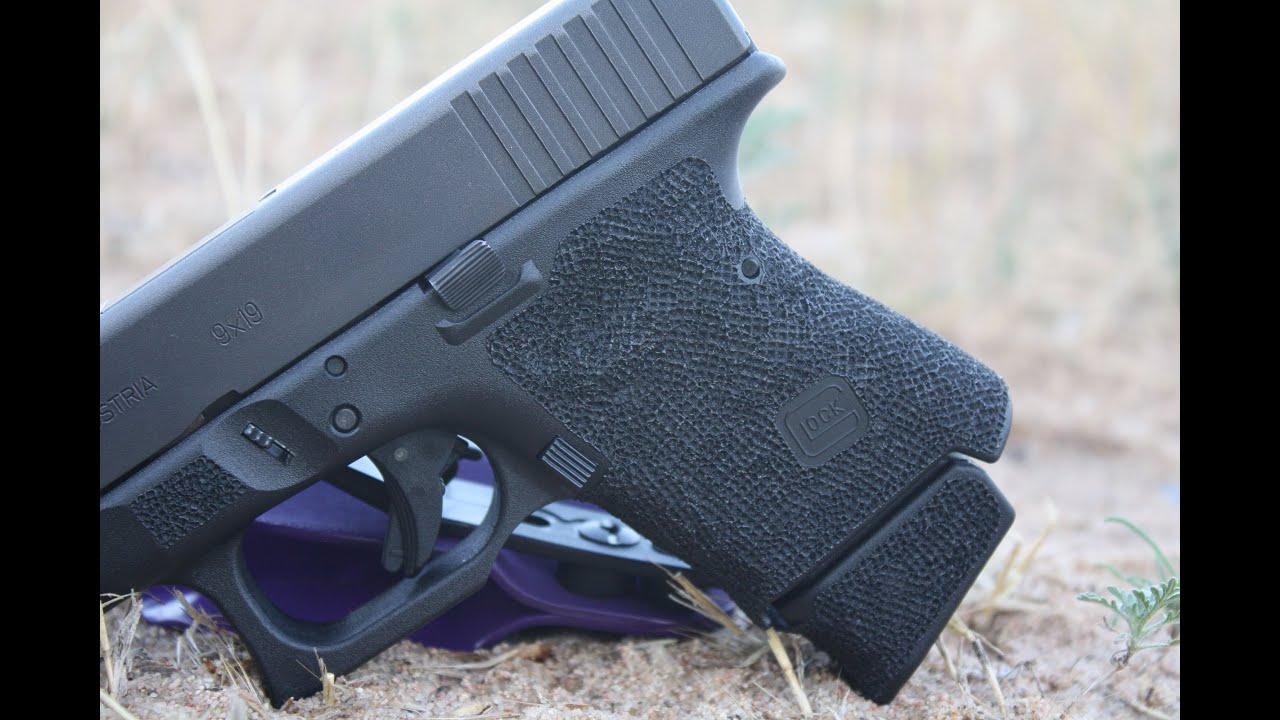 Glock 26 Grip Reduction