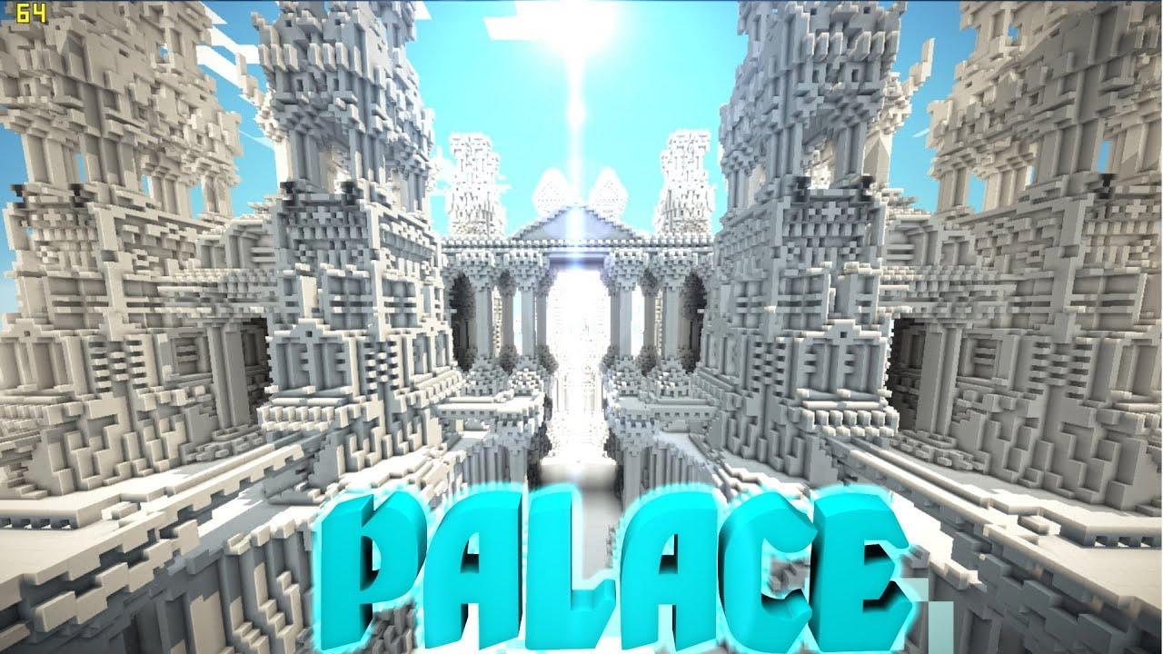 0 8 1 Minecraft Pe Custom Map Palace Download Youtube