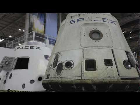 SpaceX Rocket Factory, A Video Tour | NASA ISS Space Station Dragon Vehicle HD Video