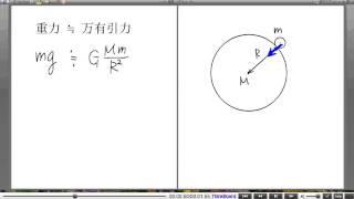 高校物理解説講義:「万有引力のもとでの運動」講義10