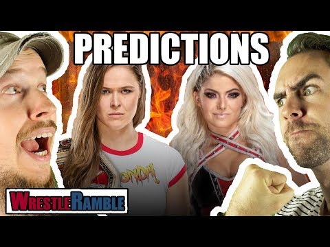 WWE HIAC 2018 PREDICTIONS! | WrestleRamble