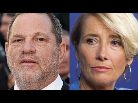 Emma Thompson slams Harvey Weinstein