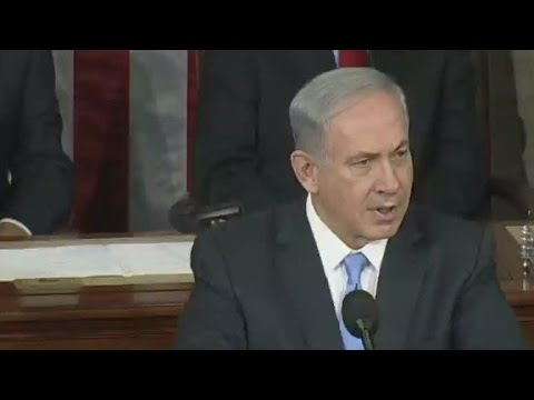 Prime Minister Benjamin Netanyahu addresses Congress