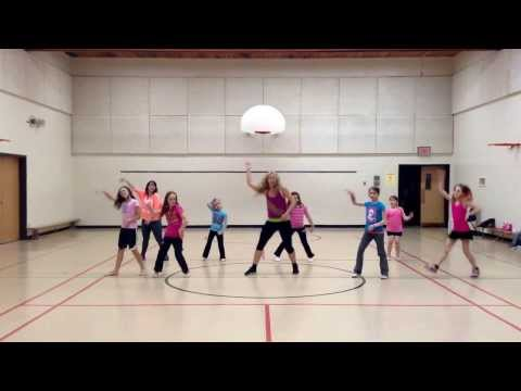 Fireworks -wow Girls Zumba video