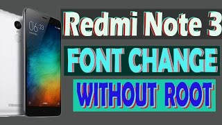 HOW TO CHANGE FONT OF MIUI