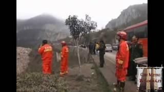 Landslide southwest China - Frana in Cina 18/02/2013