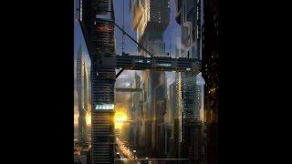 Enchanting sad chior beat  ☠ Cyberpunk ☠ (Slums of the future)