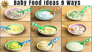 Lunch Ideas for Babies | Baby Food Recipes for 10+ Months | Baby Food Ideas | Weight Gain Baby Food